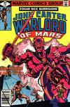 Cover for John Carter Warlord of Mars (Marvel, 1977 series) #28 [Direct Edition]