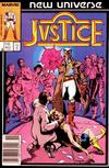 Cover Thumbnail for Justice (1986 series) #1 [Newsstand]