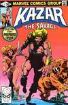 Cover for Ka-Zar the Savage (Marvel, 1981 series) #1 [Direct]