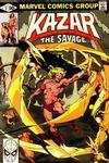 Cover Thumbnail for Ka-Zar the Savage (1981 series) #2 [Direct]