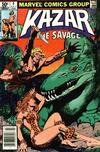 Cover for Ka-Zar the Savage (Marvel, 1981 series) #4 [Newsstand]