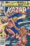 Cover for Ka-Zar the Savage (Marvel, 1981 series) #8 [Newsstand]