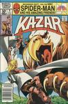 Cover for Ka-Zar the Savage (Marvel, 1981 series) #9 [Newsstand]