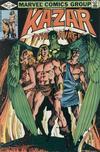 Cover for Ka-Zar the Savage (Marvel, 1981 series) #10
