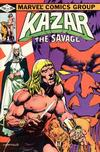 Cover for Ka-Zar the Savage (Marvel, 1981 series) #11