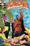 Cover for Ka-Zar the Savage (Marvel, 1981 series) #12
