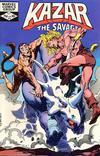 Cover for Ka-Zar the Savage (Marvel, 1981 series) #14
