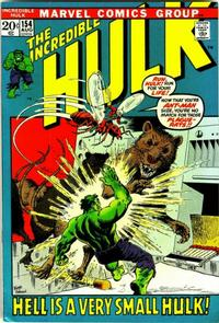 Cover Thumbnail for The Incredible Hulk (Marvel, 1968 series) #154