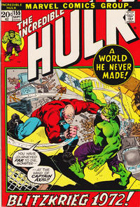 Cover Thumbnail for The Incredible Hulk (Marvel, 1968 series) #155