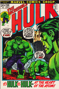 Cover Thumbnail for The Incredible Hulk (Marvel, 1968 series) #156