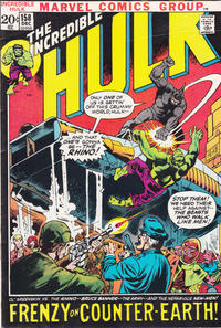 Cover Thumbnail for The Incredible Hulk (Marvel, 1968 series) #158