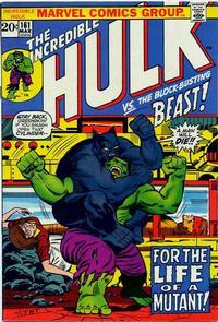 Cover Thumbnail for The Incredible Hulk (Marvel, 1968 series) #161 [Regular Edition]