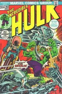 Cover Thumbnail for The Incredible Hulk (Marvel, 1968 series) #163 [Regular Edition]