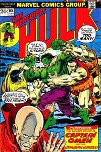 Cover Thumbnail for The Incredible Hulk (Marvel, 1968 series) #164 [Regular Edition]