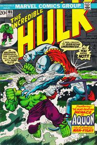 Cover Thumbnail for The Incredible Hulk (Marvel, 1968 series) #165 [Regular Edition]