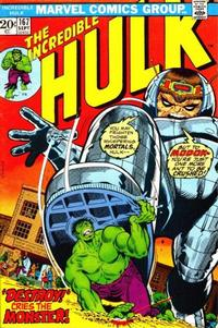 Cover Thumbnail for The Incredible Hulk (Marvel, 1968 series) #167