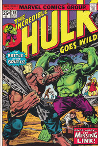 Cover Thumbnail for The Incredible Hulk (Marvel, 1968 series) #179