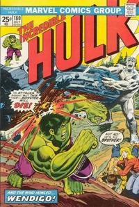 Cover Thumbnail for The Incredible Hulk (Marvel, 1968 series) #180