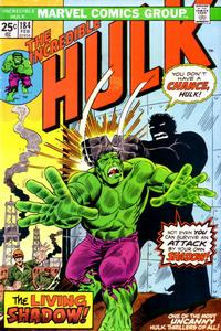 Cover Thumbnail for The Incredible Hulk (Marvel, 1968 series) #184