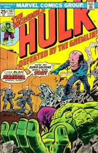 Cover Thumbnail for The Incredible Hulk (Marvel, 1968 series) #187