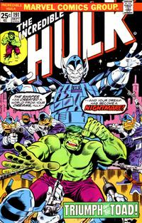 Cover Thumbnail for The Incredible Hulk (Marvel, 1968 series) #191