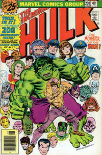 Cover Thumbnail for The Incredible Hulk (Marvel, 1968 series) #200 [25¢]