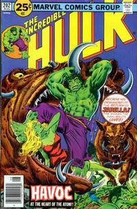 Cover Thumbnail for The Incredible Hulk (Marvel, 1968 series) #202 [25¢]