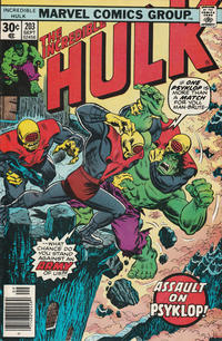 Cover Thumbnail for The Incredible Hulk (Marvel, 1968 series) #203