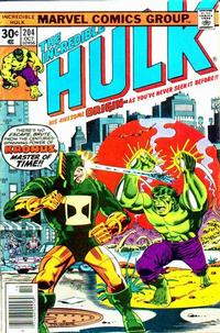 Cover Thumbnail for The Incredible Hulk (Marvel, 1968 series) #204
