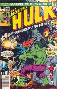 Cover Thumbnail for The Incredible Hulk (Marvel, 1968 series) #207