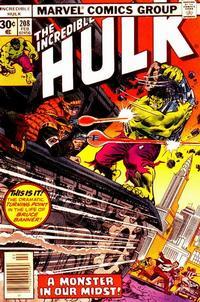 Cover Thumbnail for The Incredible Hulk (Marvel, 1968 series) #208 [Regular Edition]