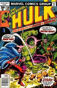 Cover Thumbnail for The Incredible Hulk (Marvel, 1968 series) #210 [Regular Edition]