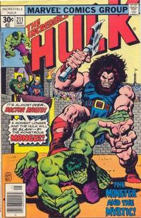 Cover Thumbnail for The Incredible Hulk (Marvel, 1968 series) #211