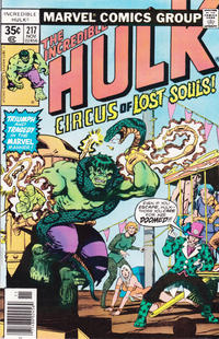 Cover Thumbnail for The Incredible Hulk (Marvel, 1968 series) #217 [Regular Edition]