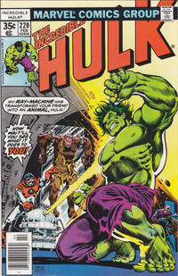 Cover Thumbnail for The Incredible Hulk (Marvel, 1968 series) #220