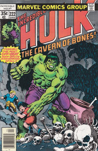 Cover Thumbnail for The Incredible Hulk (Marvel, 1968 series) #222