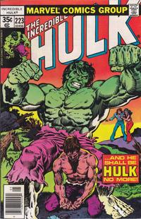 Cover Thumbnail for The Incredible Hulk (Marvel, 1968 series) #223 [Regular Edition]