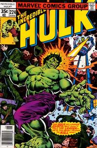 Cover Thumbnail for The Incredible Hulk (Marvel, 1968 series) #224