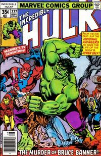 Cover Thumbnail for The Incredible Hulk (Marvel, 1968 series) #227