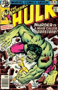 Cover Thumbnail for The Incredible Hulk (Marvel, 1968 series) #228 [newsstand]
