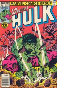 Cover Thumbnail for The Incredible Hulk (Marvel, 1968 series) #245