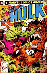 Cover Thumbnail for The Incredible Hulk (Marvel, 1968 series) #247 [Direct]