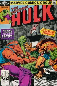 Cover Thumbnail for The Incredible Hulk (Marvel, 1968 series) #257 [Direct]