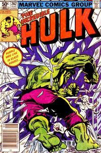 Cover Thumbnail for The Incredible Hulk (Marvel, 1968 series) #262