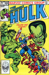 Cover Thumbnail for The Incredible Hulk (Marvel, 1968 series) #284 [Direct Edition]