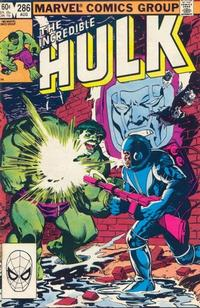 Cover Thumbnail for The Incredible Hulk (Marvel, 1968 series) #286 [Direct Edition]