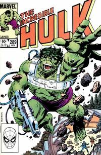Cover for The Incredible Hulk (Marvel, 1968 series) #289