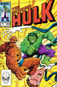 Cover Thumbnail for The Incredible Hulk (Marvel, 1968 series) #293 [Direct]