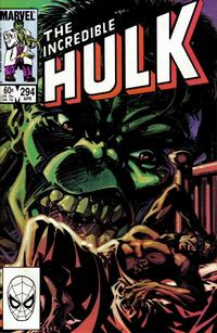 Cover Thumbnail for The Incredible Hulk (Marvel, 1968 series) #294 [Direct Edition]