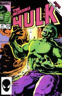 Cover Thumbnail for The Incredible Hulk (Marvel, 1968 series) #312 [Direct]